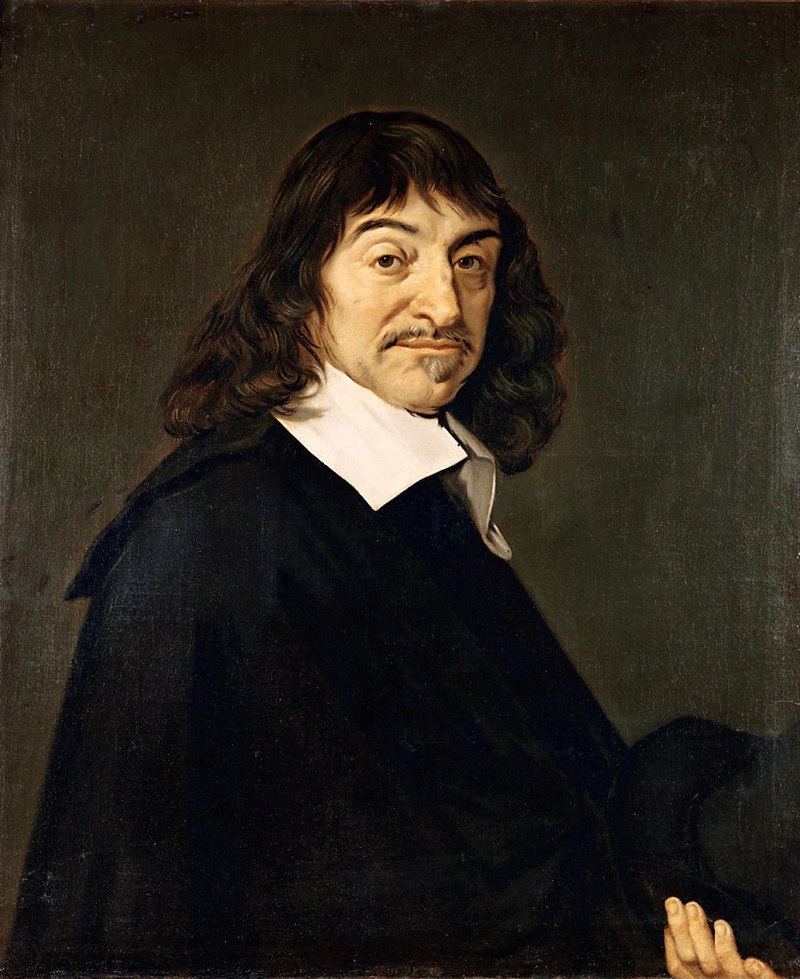 Portrait of René Descartes by Fran Hals, c. 1649-1700 (Wikimedia Commons)