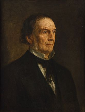 Gladstone in 1874, painted by Franz von Lenbach. Franz von Lenbach - Portrait of William Ewart Gladstone (1874).jpg