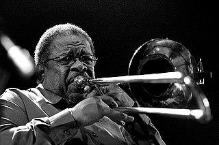 Fred Wesley American jazz trombonist