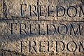 Freedom - FDR Memorial - Washington DC - 2014-04-10 (13772893393).jpg