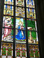 Freistadt Pfarrkirche - Fenster 4 Verkündigung.jpg