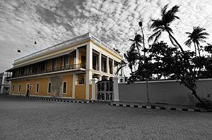 Puducherry - Consulate of France at Goubert Avenue, White Town, Puducherry