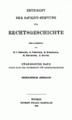 Frensdorff Das Reich und die Hansestädte p 001.png
