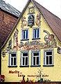 Fresko von Karl Max Lechner am Gänsmarkt in Bad Mergentheim.jpg
