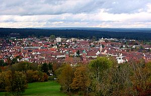 Freudenstadt - Image: Freudenstadt im Schwarzwald