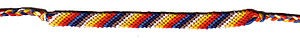 Friendship bracelet - Friendship bracelet – easy stripe form