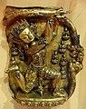 Frieze of Nagaraja, Tibet, Densatil, 15th century, gilt bronze inset with hard stones and turquoise - Berkeley Art Museum and Pacific Film Archive - DSC03991.JPG