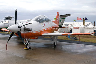 Pilatus PC-21 - A PC-21 on static display, 2009