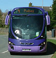 Ftr bus in Naburn Approach, Seacroft, Leeds, 19028 (YJ07 LVW), 7 April 2011 cropped.jpg