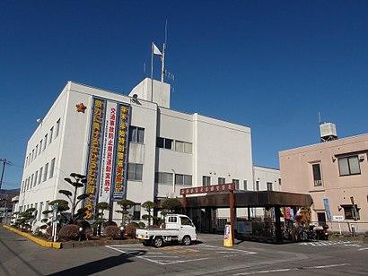 富士吉田警察署への交通機関を使った移動方法
