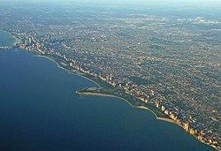 Full chicago skyline