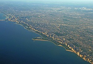Lincoln Park - Image: Full chicago skyline