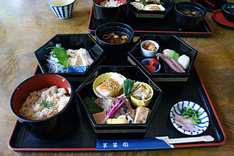 Kaiseki - A casual-kaiseki of Fuyoen in Ōtsu