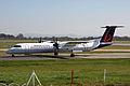 G-ECOH Dash 8Q-402 Brussels Al(FlyBe) MAN 27MAR12 (6875097514).jpg