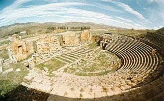 Khemissa - Roman Theatre in Khemissa