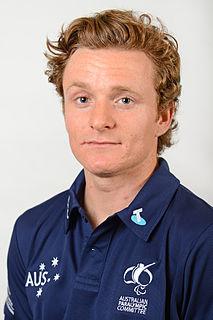 Mitchell Gourley Australian Paralympic alpine skier