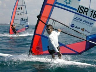 Windsurfing - Olympic gold medalist, Gal Fridman