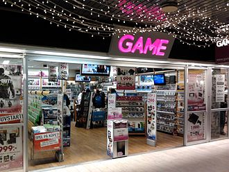 Game (retailer) - Game shop in Umeå, Sweden
