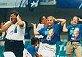 Games volunteers doing the macarena during the Atlanta Paralympics (1).jpg