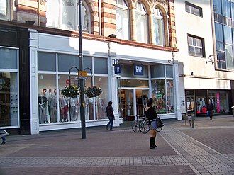 Gap Inc. - A Gap store on Briggate in Leeds, West Yorkshire.