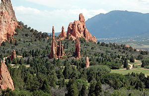 Garden of the Gods - Garden of the Gods, Colorado Springs, Colorado