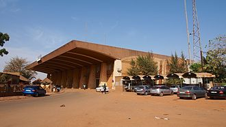 Ouagadougou - Ouagadougou train station