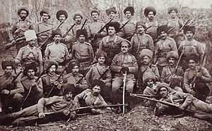 Garegin Nzhdeh Armenian volunteer detachment 1915.jpg