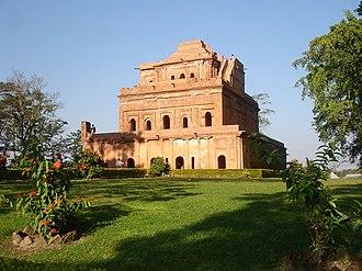 Assam - Kareng ghar, the palace of the Ahom kings