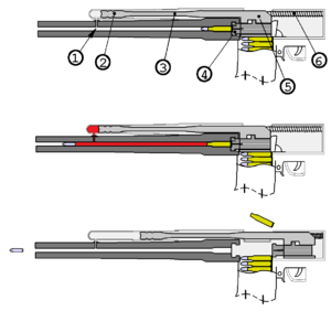 Gas-operated firearm unifilar drawing.png