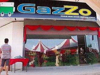 Internet café - An Internet café in Kulim, Kedah, Malaysia.