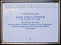 Gedenktafel Sächsische Str 26 Lisa Holländer.jpg