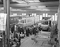 Gelede trams in aanbouw voor Amsterdam bij Beijnes, Bestanddeelnr 908-3745.jpg