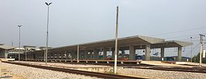 Gemas railway station - Image: Gemas New Station 4
