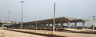 Gemas railway station - Image: Gemas New Station 4