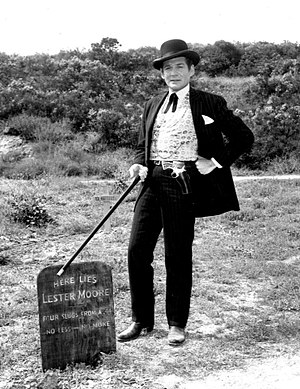 Bat Masterson (TV series) - Gene Barry as Bat Masterson (1960)