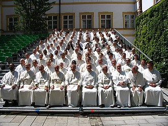 Chapter (religion) - The group photo at the 2006 general chapter of the Premonstratensians.