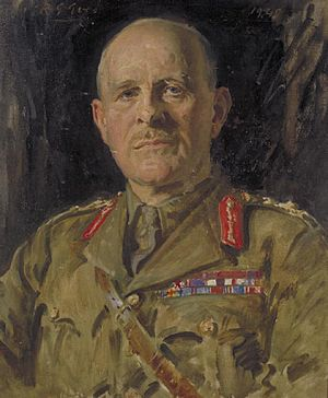 John Vereker, 6th Viscount Gort - Portrait of The Viscount Gort, by Reginald Grenville Eves