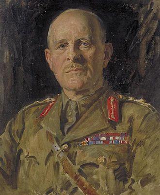 John Vereker, 6th Viscount Gort - Portrait of The Viscount Gort, by Reginald Grenville Eves