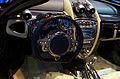 Geneva MotorShow 2013 - Pagani Huayra steering wheel 2.jpg