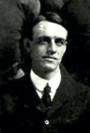 G. B. Ward - Ward cropped from the 1904 New Hampshire football team photo