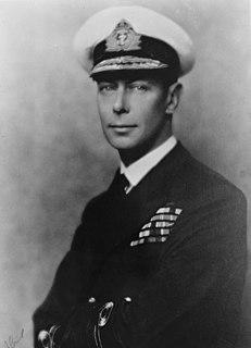 George VI King of the United Kingdom