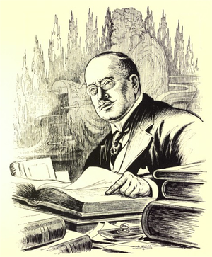 George Green Foster - George Green Foster in Canadian men of affairs in cartoon, 1922