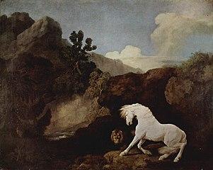 Le cheval et les cinq éléments dans CHEVAL 301px-George_Stubbs_004
