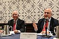 George Tsereteli introduces Ben Cardin in Washington, 4 Nov. 2018 (45679096882).jpg