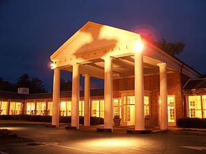 Warm Springs Historic District - Georgia Hall, Roosevelt Warm Springs Institute for Rehabilitation