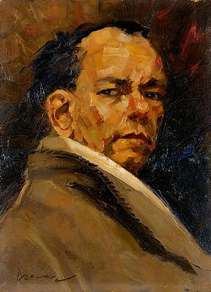 Gerard Pieter Adolfs - Self-portrait in 1946