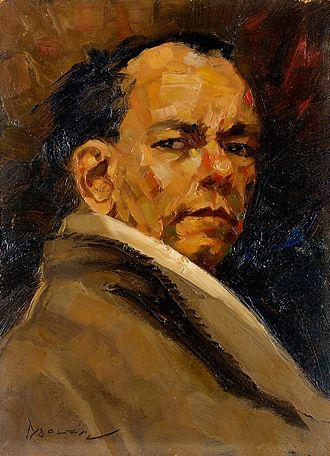 Gerard Pieter Adolfs - Self-portrait in 1946