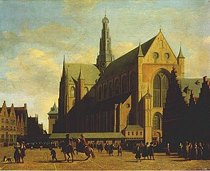 The Grote Markt and St. Bavo's, Haarlem