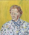 Gertrude Elion. Oil painting by Sir Roy Calne, 1990. Wellcome L0024105.jpg