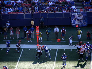2008 New York Giants season - The Cincinnati Bengals visit Giants Stadium, September 21